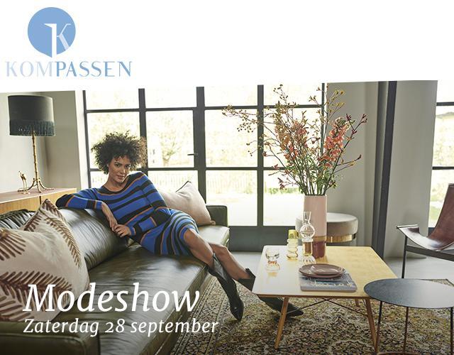 Modeshow 28 september bij Kompassen!